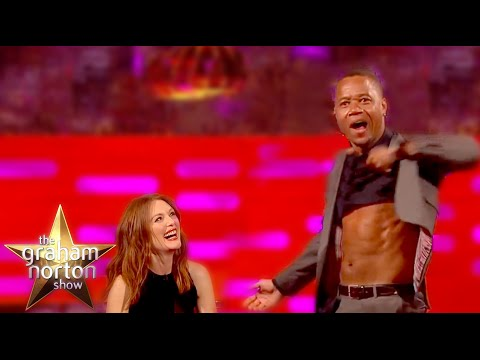Cuba Gooding Jr. Strips Naked With Bono  The Graham Norton