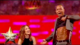 vuclip Cuba Gooding Jr. Strips Naked With Bono - The Graham Norton Show