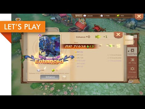 🥇 Let's Play - Laplace M iOS (Enhancing Card Packs) | Cheats MOD