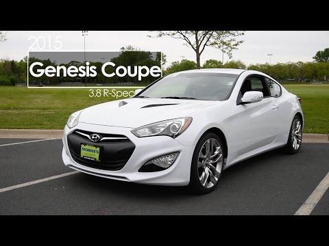 2015 Hyundai Genesis Coupe Review 3.8 R Spec Test Drive