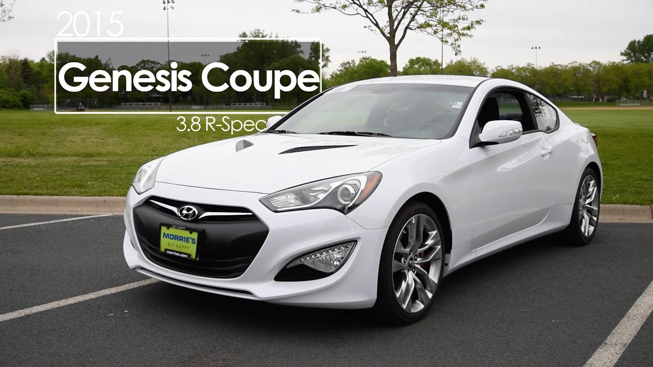 Lovely 2015 Hyundai Genesis Coupe Review | 3.8 R Spec | Test Drive   YouTube