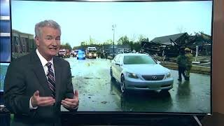 Major damage after tornado strike in Wetumpka