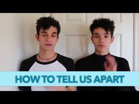 HOW TO TELL THE TWINS APART