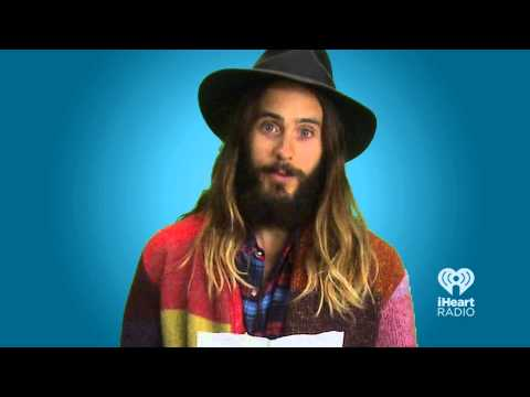 Jared Leto Says The Sexiest Pick Up Lines | Hey Girl