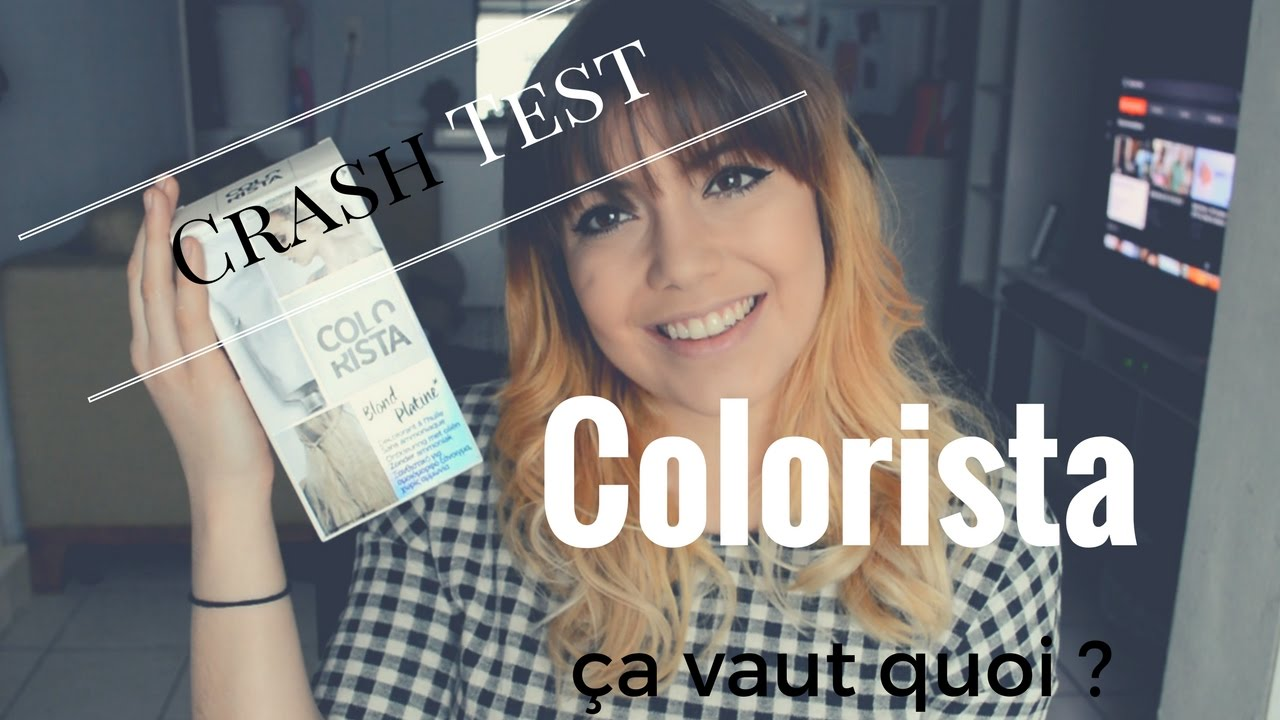 Coloration blonde sur cheveux brun sans decoloration