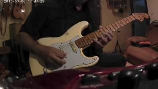 Panos A.Arvanitis improvisation on D minor Pentatonic and more