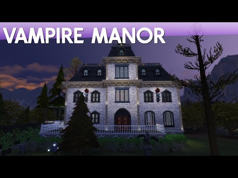 The Sims 4 Speed Build - Vampire Manor