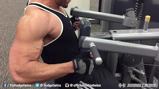 It H.I.R.T. chest & back workout