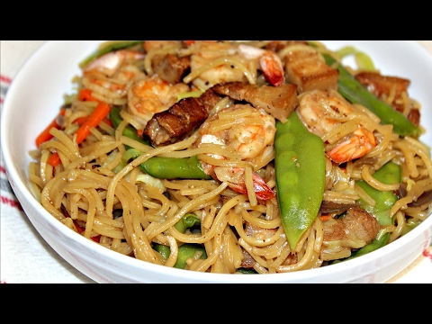 PANCIT CANTON RECIPE | HOW TO COOK FILIPINO PANCIT CANTON