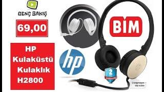 BİM - (69 TL) HP - H2800 KULAKLIK Kutu Açılışı & İnceleme !
