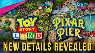 EXTRA Details Released for TOY STORY LAND & PIXAR PIER - Disney News - 3/13/18