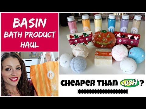 BASIN Bath Haul | Cheaper than LUSH!!!