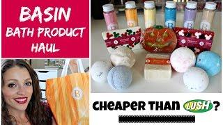 BASIN Bath Haul | Cheaper than LUSH!!!