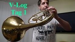V-Log: Horn spielen lernen @senzenfrenz Tag 1