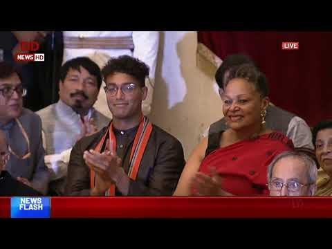 President Ram Nath Kovind Presents Bharat Ratna Awards
