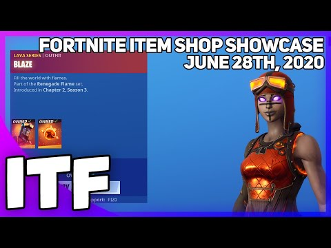 Fortnite Item Shop BLAZE IS STILL HERE! [June 28th, 2020] (Fortnite Battle Royale)