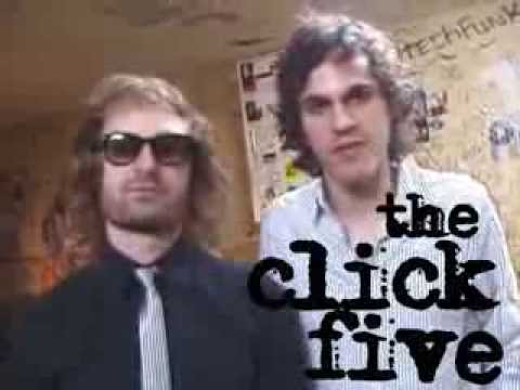 THE CLICK FIVE | 激ロック動画メッセージ