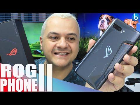ROG PHONE II | CHEGANDO NO BRASIL, INCRÍVEL PRA JOGOS E ULTRA PODEROSO! UNBOXING E IMPRESSÕES