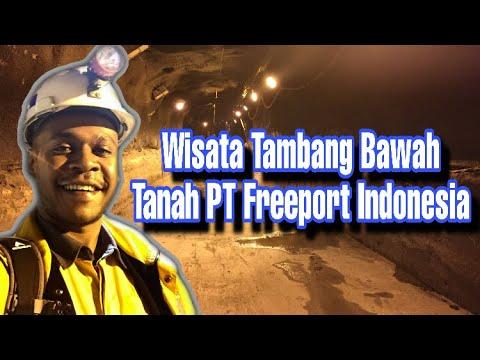 Mengenal Tambang Bawah Tanah   PT Freeport Indonesia   Underground Mining