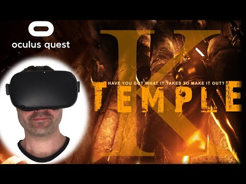 TEMPLE K - Oculus Quest SideQuest Game I VR Reviews