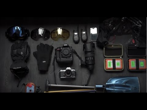 James Bryant Snowboard Photographer Kit Bag Essentials In Partnership With Nikon