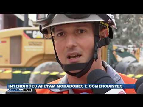 SP: Bombeiros Buscam Por 5 Desaparecidos Em Desabamento