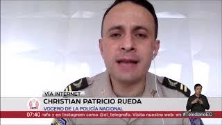 #EntrevistasTelediario | Teniente Coronel Christian Patricio Rueda, vocero de la Policía Nacional