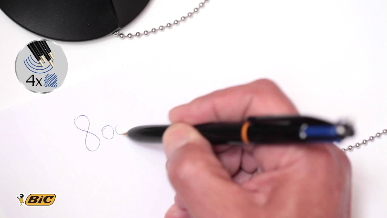 how to make a ballpoint pen write smoothly