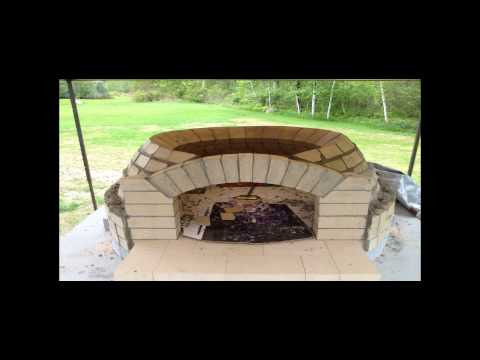 Wood Fired Oven Build 2013