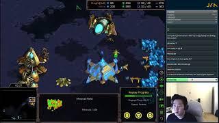 Jaeyun 39 s Starcraft Series Ep 4 Protoss vs Zerg w Nyoken