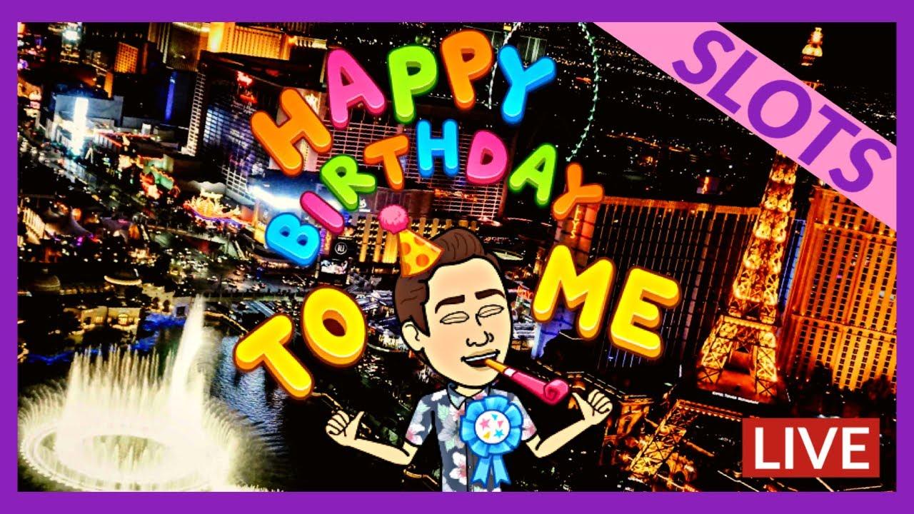 🔴 LIVE SLOTS ON GIL'S BIRTHDAY! VEGAS CELEBRATION  🎉