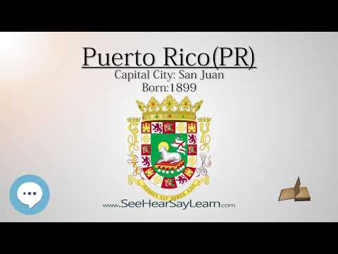 PUERTO RICO - Territory of the United States | EYNTK  about The States & Territories ❤️🌎🔊✅