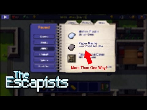 MORE THAN ONE WAY TO CRAFT THIS?!!? - The Escapists Tips (iOS Gameplay)