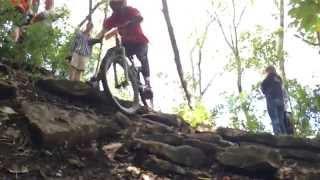 2014 Mizzou Mountain Bike Downhill Race