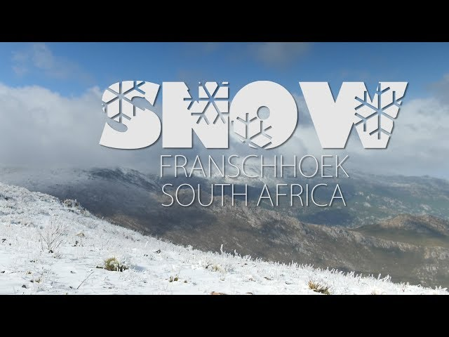 SNOW FRANSCHHOEK (4K)