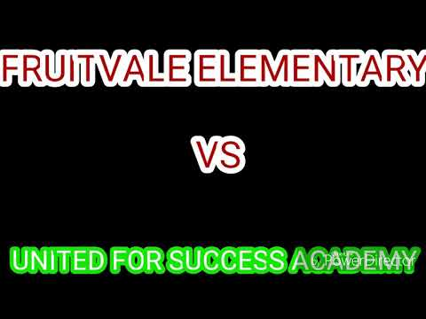 FRUITVALE ELEMENTARY VS UNITED FOR SUCCESS ACADEMY COMPARED BATTLE
