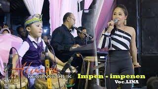 Gambar cover ALVARO KENDANG CILIK NYA Banyuwangi feat LINA - Impen-impenen