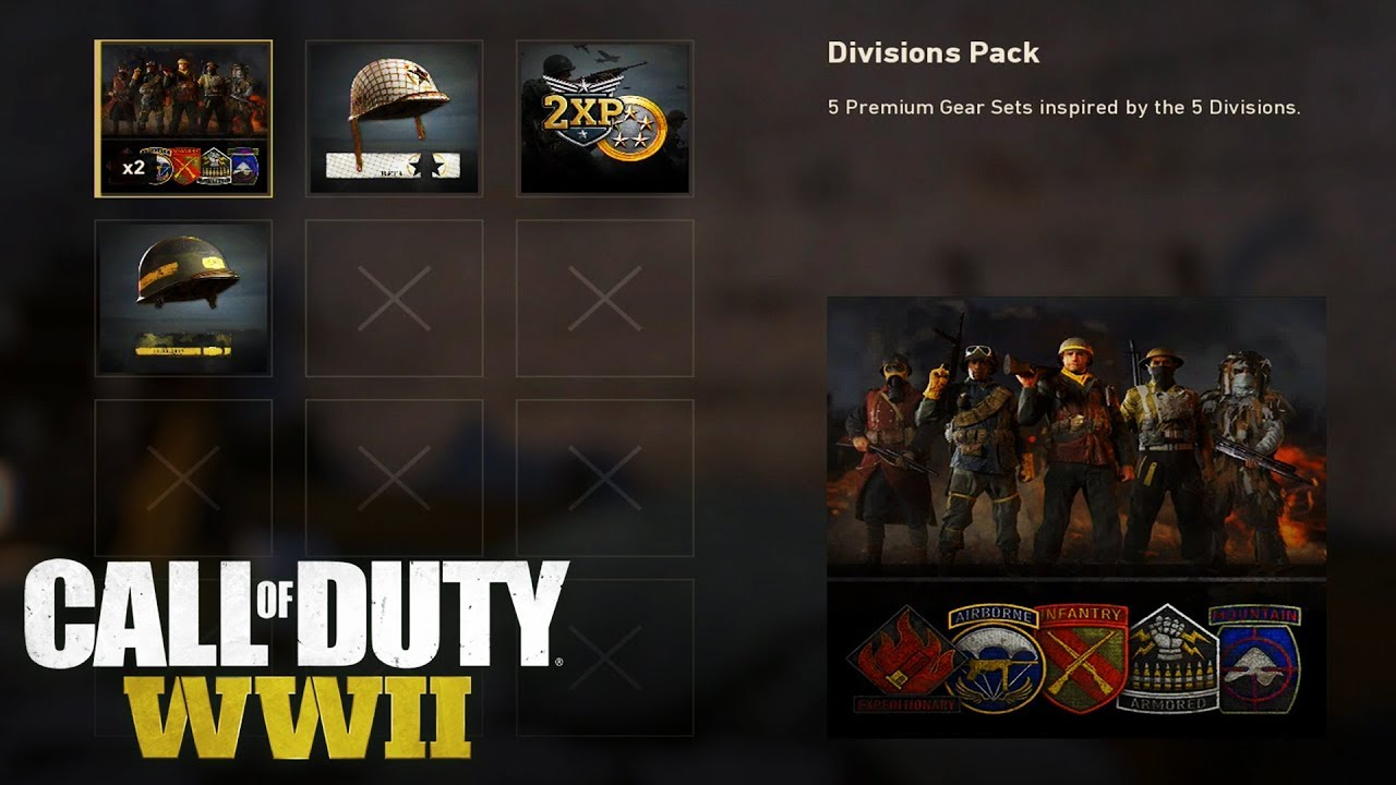 Call of Duty: WW2 - How to Redeem Pre Order DLCs Codes (Tutorial) The  Division Pack & 2XP Code