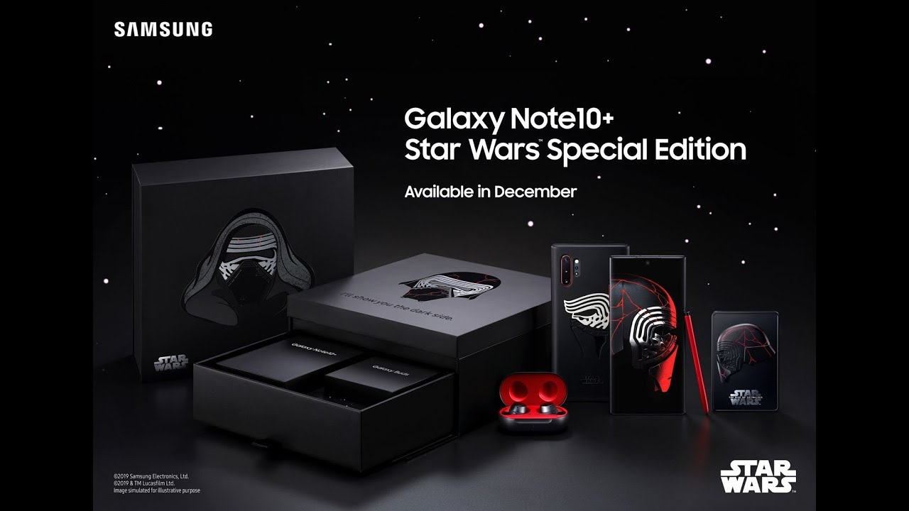 Samsung Galaxy Note 10 Star Wars Special Edition Youtube