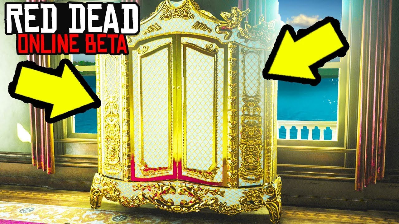 YOU WONT BELIEVE WHAT IS INSIDE THIS GOLD DRESSER in Red Dead Online! Easy Money Making RDR2 Online