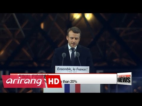 World's reaction to French election result
