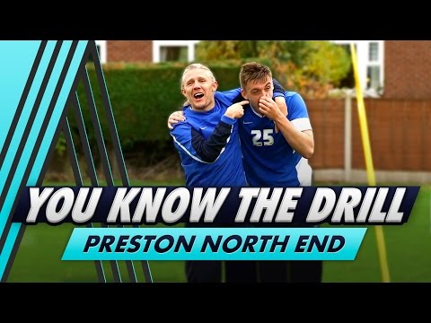 Shooting and Heading Challenge   You Know The Drill - Preston North End with Jordan Hugill