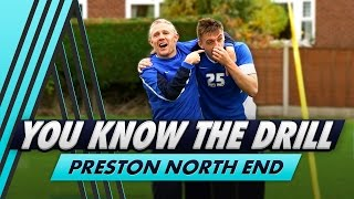 You Know The Drill: Shooting and Heading Challenge with Preston North End