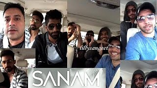 \\SANAM band live in Dubai. Interview with  Salman Qureshi.\\