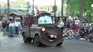 DCA: Pixar Play Parade Part 2