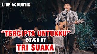 Download lagu TERCIPTA UNTUKKU - UNGU LIVE ACOUSTIK COVER BY TRI SUAKA | PENDOPO LAWAS