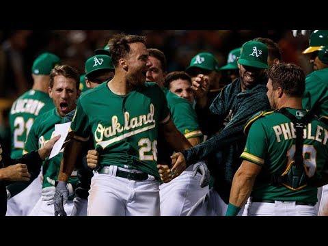 2018 Oakland Athletics Season Highlights/Best Moments