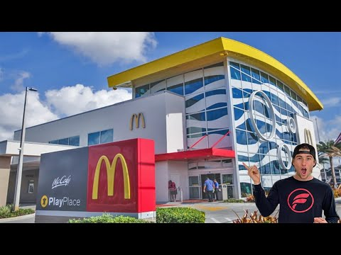 2.4 Hours In Worlds Largest McDonald's (3 Stories)