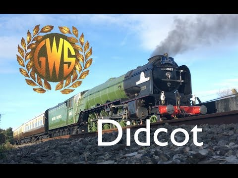 Didcot Railway Centre 28-10-2017 Tornado and the Rail-Motor
