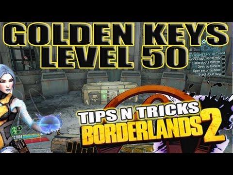 Golden Key Used Level 50: Borderlands 2 (Vengeful Fighter, Splatgun) - YouTube